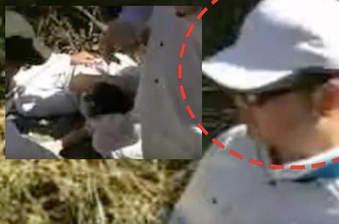 【動画】防衛省職員全治二週間! 東村高江のヘリパッド建設現場付近で、しばき隊(男組)が関与したと思われる暴行傷害事件が発生した模様