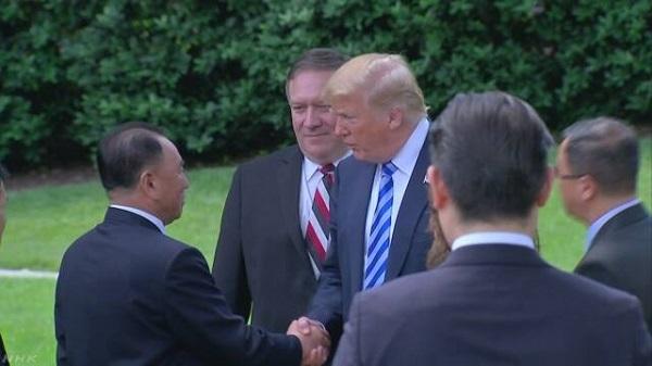 トランプ大統領 米朝首脳会談6月12日シンガポールで開催へ