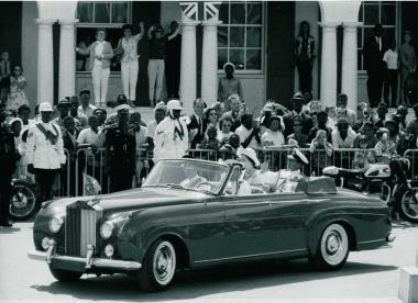 クイーンエリザベス2世とプリンスフィリップ,1966年3月