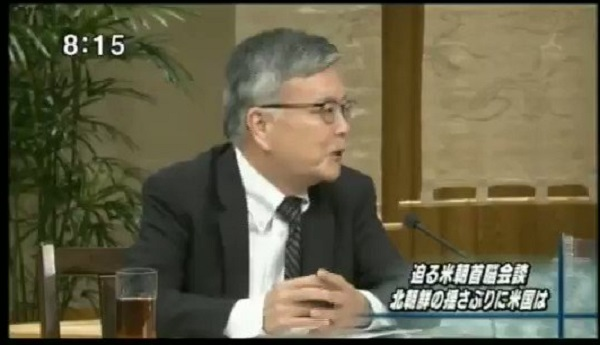 与良正男「北朝鮮問題で日本は蚊帳の外だがいずれは中に入る。過去・ミサイル・拉致を解決した上で国交正常化し無償で経済