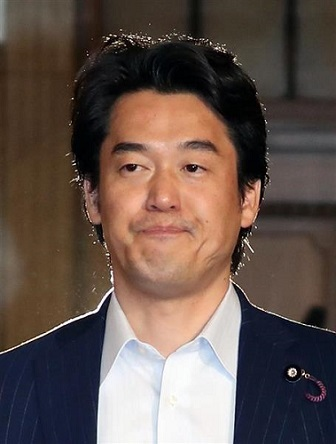 民進党の小西洋之氏(福島範和撮影)