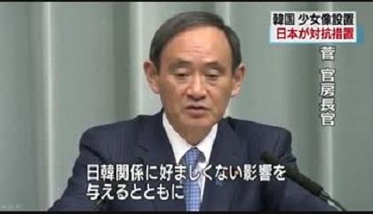 ■平成29年(2017年)1月6日、日本政府が対抗措置を発表