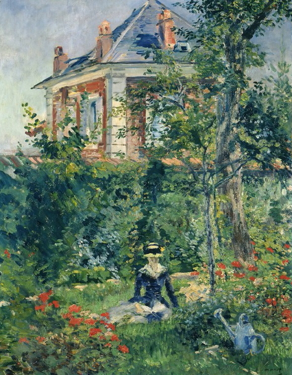 エドゥアール・マネ《ベルヴュの庭の隅》