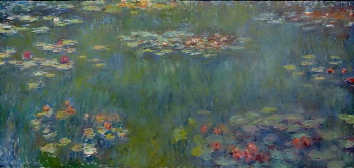 クロード・モネ_睡蓮の池、緑の反映_ブログ用
