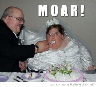 デブな花嫁画像