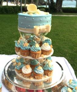 ブルームーンチャペル_ウェディングケーキ
