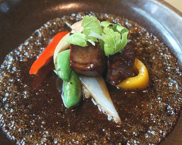 20180404 China Rioom 6 牛ヒレ肉の蜂蜜オイスター炒め 21㎝ DSC05978