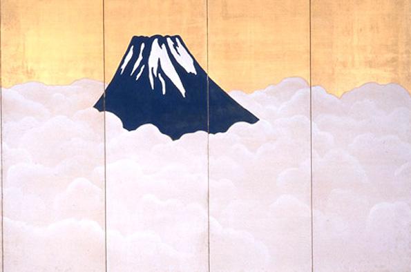 20180417 大観展 群青富士 1917 静岡県立美術館 21㎝ c-1200x565
