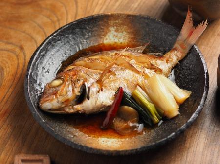 小鯛の煮付け011