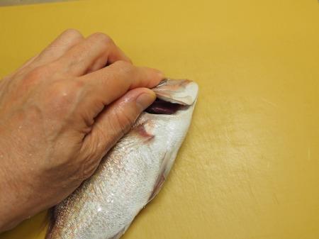 小鯛の煮付け032