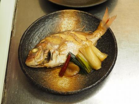 小鯛の煮付け083