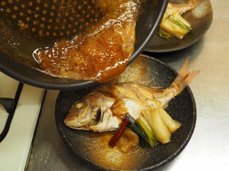 小鯛の煮付け096