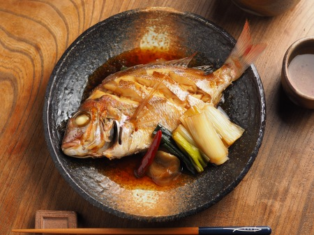 小鯛の煮付け004