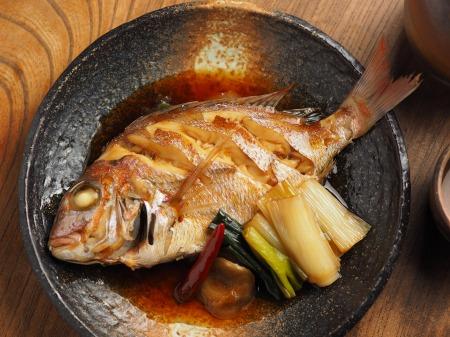 小鯛の煮付け016