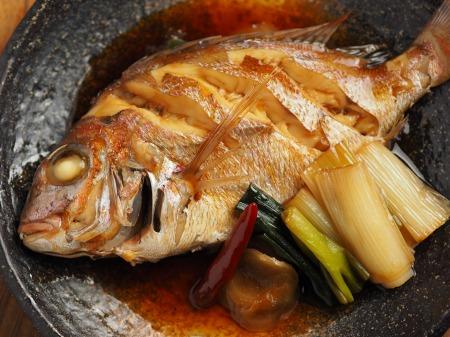 小鯛の煮付け018