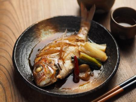 小鯛の煮付け024