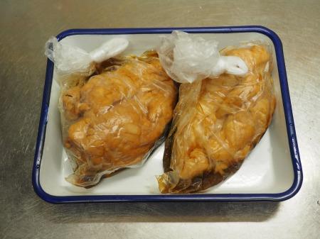 炊飯器鶏むね肉鴨ロース078