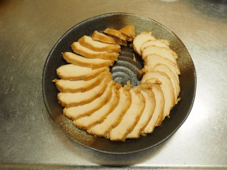 炊飯器鶏むね肉鴨ロース091