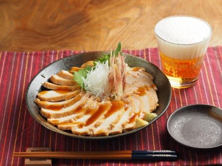 炊飯器鶏むね肉鴨ロース008