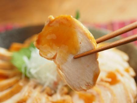 炊飯器鶏むね肉鴨ロース034