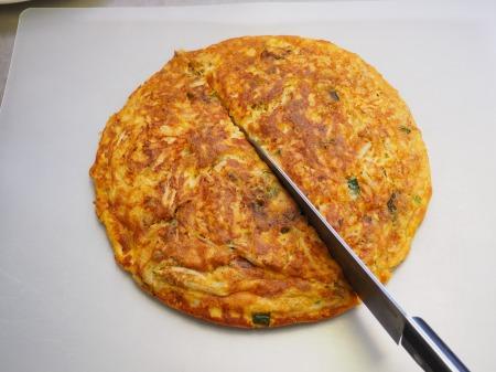 納豆チーズのオープンオムレツ059