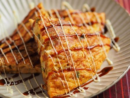 納豆チーズのオープンオムレツ034
