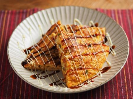 納豆チーズのオープンオムレツ033