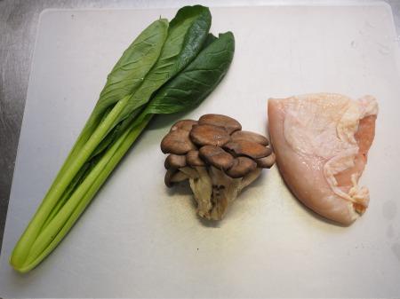 鶏むね肉ときのこのクリームパタ019