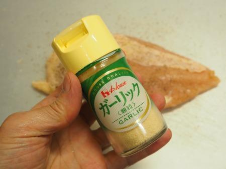 鶏むね肉のガーリック酒塩焼き039