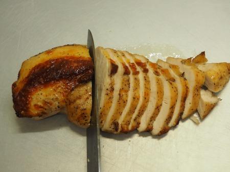 鶏むね肉のガーリック酒塩焼き052