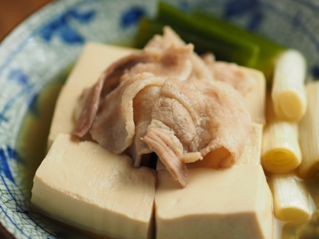ごぼうの豚ばら巻き、煮奴040