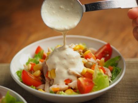 チキンベジタブルサラダ012