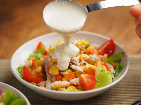 チキンベジタブルサラダ011
