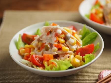 チキンベジタブルサラダ016