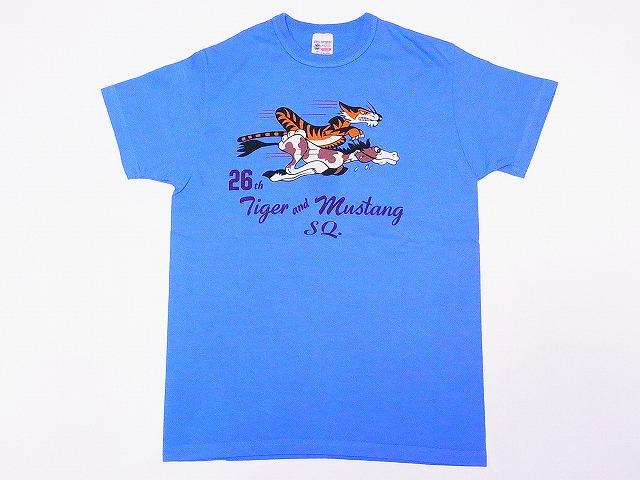 バズリクソンズ Tシャツ BR78017 26th FIGHTER SQ.