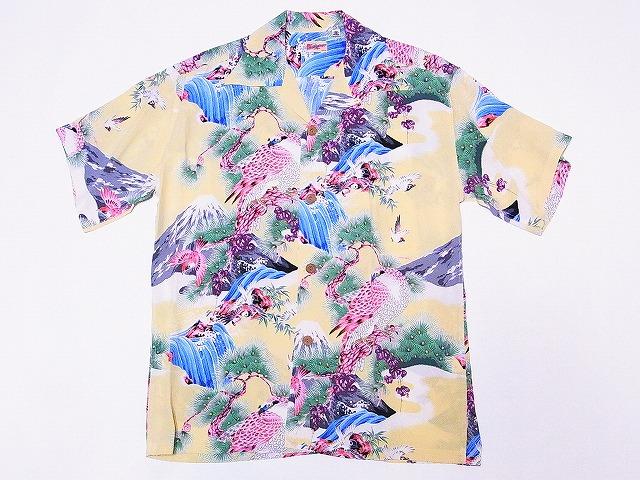 サンサーフ アロハシャツ SS37786 HAWK