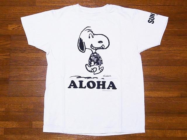 サンサーフ Tシャツ スヌーピー SS77973 チャーリーブラウン SS77974