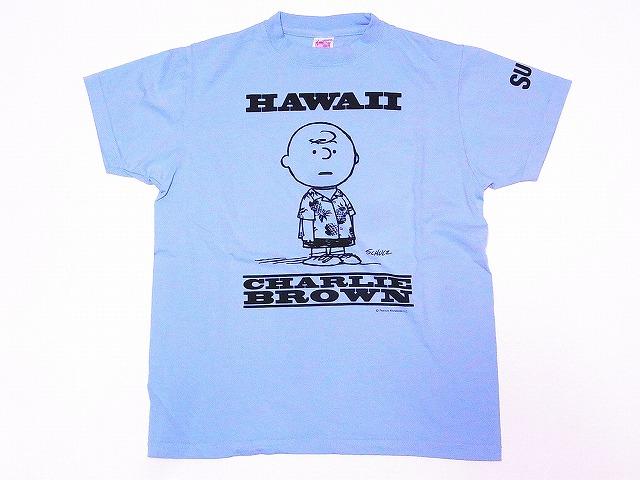 サンサーフ Tシャツ チャーリーブラウン SS77974