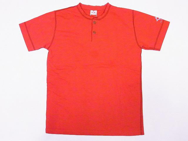 トゥームーン ヘンリーネックTシャツ 24223