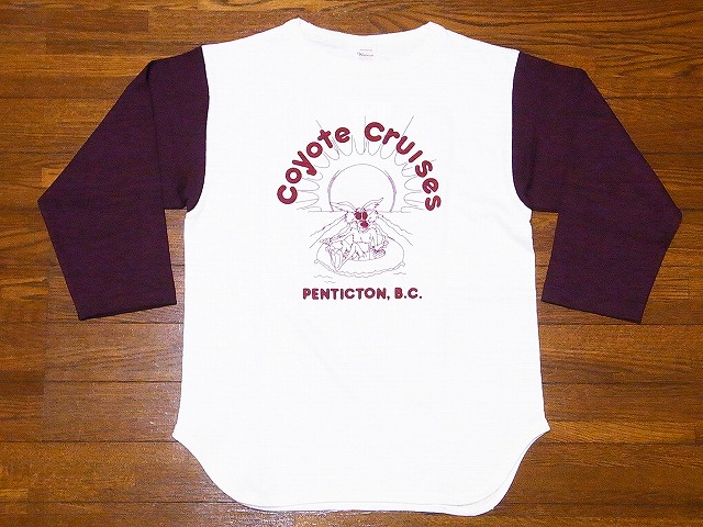 ウエアハウス ベースボールTシャツ 4800 COYOTE CRUISES