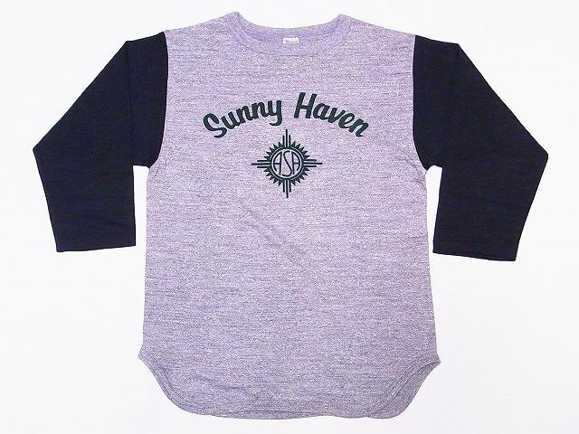 ウエアハウス ベースボールTシャツ 4800 SUNNY HAVEN