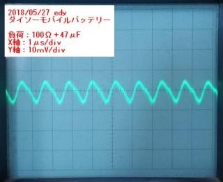 ダイソー100Ω_47μF