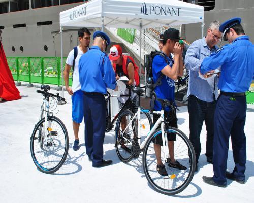 サイクリング部隊