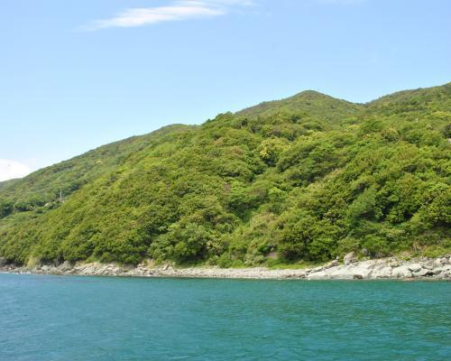 海と山の風景1