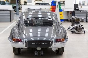 Jaguar E-Type Restration