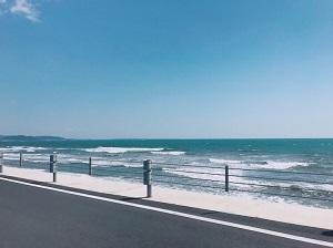 湘南の海!