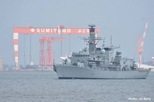 F81 HMS Sutherland