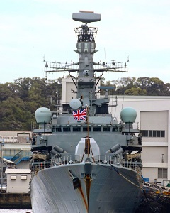 F81 HMS Sutherland レーダー装備