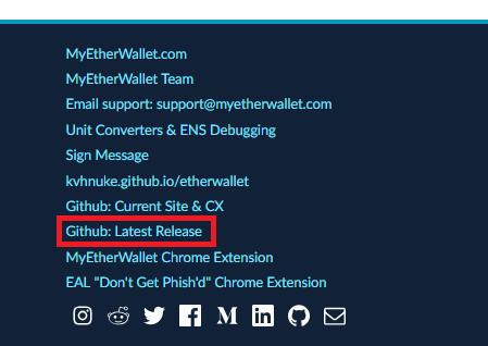 MyEtherWallet、マイイーサーウォレット、MEW、ローカル、ERC20、ERC、ETH、イーサ、イーサリアム、セキュリティ、ハッキング、フィッシング