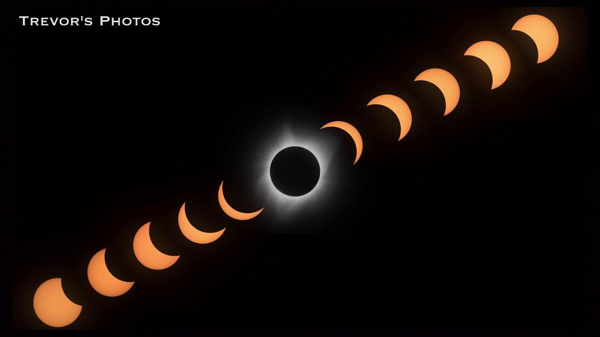 日食 連続